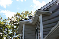 Gutter installation in central Massachusetts